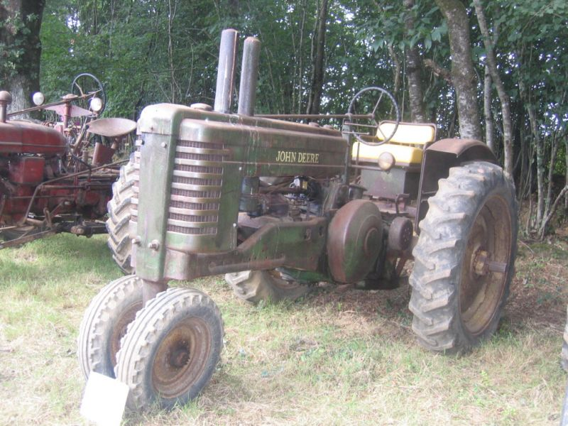 cherche tracteur john deere