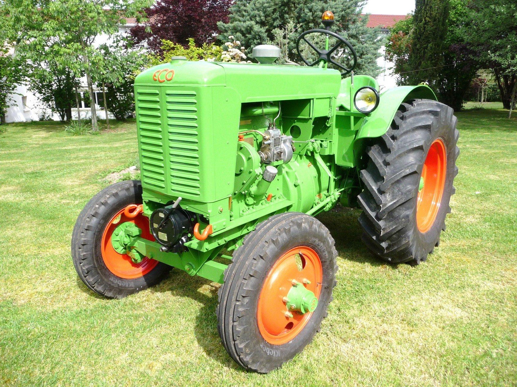 Eco les vieux tracteurs agricoles - Image tracteur ...